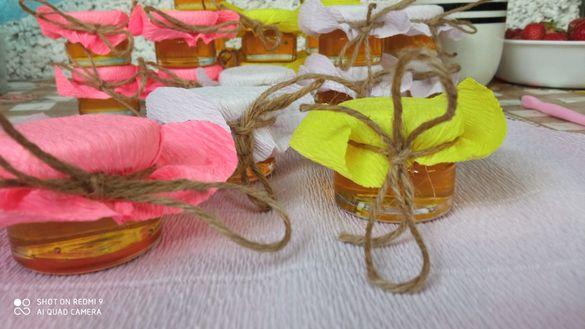 Малки бурканчета с мед за Вашия повод