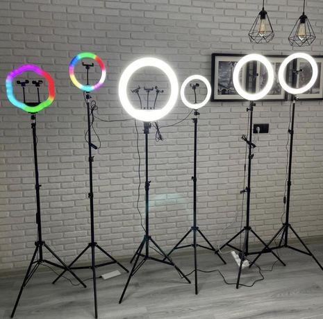 ХИТ ПРОДАЖ! 2021 26см / 33см / 45см Кольцевая Лампа Разноцветная Лампа