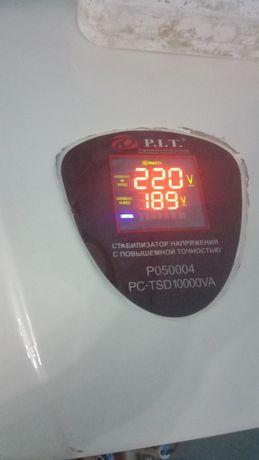 Стабилизатор 10000вт срочно сатылады почти новый