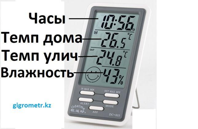 Климат устройство для дома. Гигрометр + Термометр + Часы