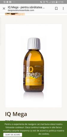 IQ Mega-Omega 3-Ulei peste cu ulei esential portocale 150 ml doTerra