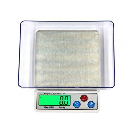 Электронные кухонные весы со съёмной чашей MH-777, от 0.1 гр до 6 кг