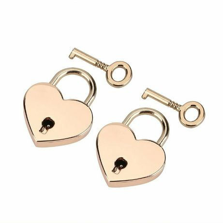 Lacat roz inima! Lacat inima! Nunta! Valentine`s Day!