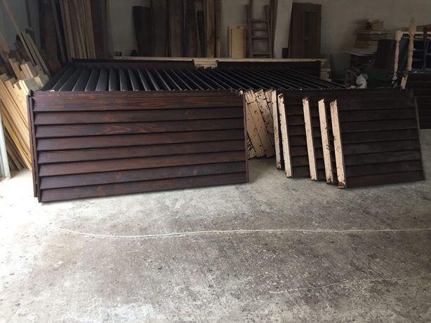 Gard scandura brad uscat