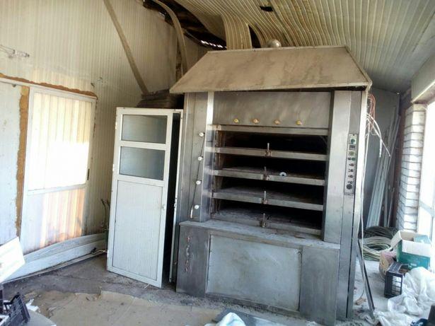 Cuptor panificatie/paine/cozonac cu 4 vetre,pe lemne,1000 paini/ora
