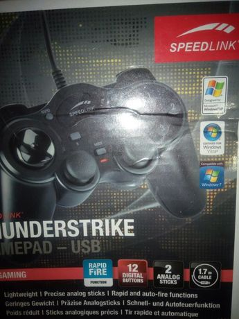 Gamepad thunderstrike usb speedlink