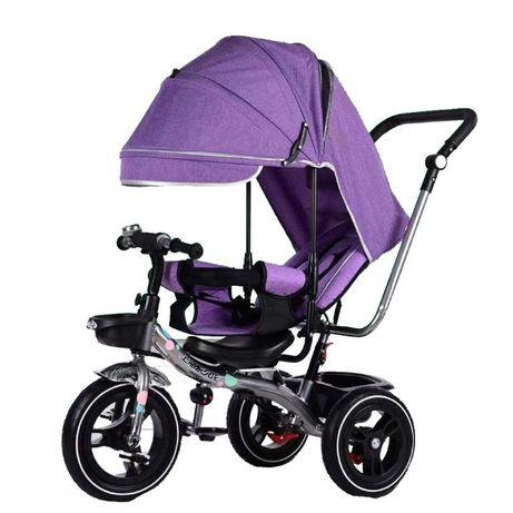 -50% Tricicleta cu poziție de somn și scaun reversibil , MOV