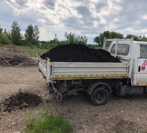 Vând pământ negru vegetal (gazon),nisip,amestec transport gratuit.