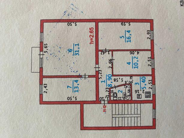 4-комнатная квартира, 88.4 (71.1) м², 4/5 этаж, Канцева 1
