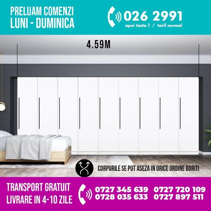 2986 lei - Dressing 4.59m / Dulap Dormitor Timea