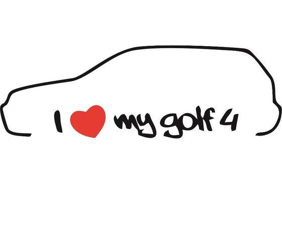 стикер   golf  4
