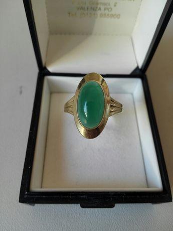 Vand inel aur cu jad