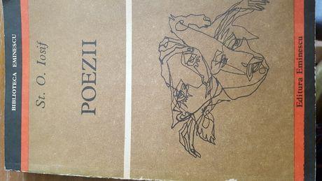 """Carte cu poezii """"St. O. Iosif."""