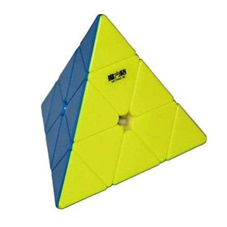 Piramida Rubik fara stickere - Pyraminx Stickerless