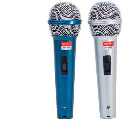 Set 2 microfoane dinamice unidirectionale cu fir WG-119