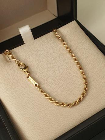Продам цепочку Chopard, желтое золото 750пробы, оригинал