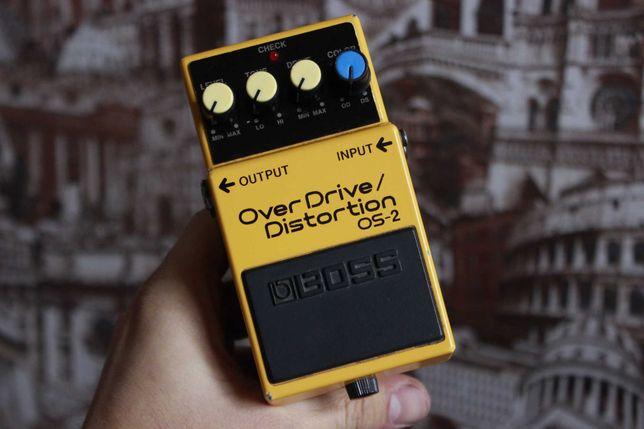 Гитарка педаль/примочка Boss OverDrive/Fistortion OS-2.