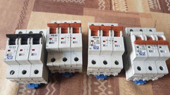 Автоматични Прекъсвачи / Бушони 3Р - 63А