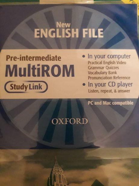 СD диск для учебника по англ.языкуNew English File