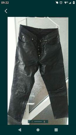 Pantaloni piele naturală