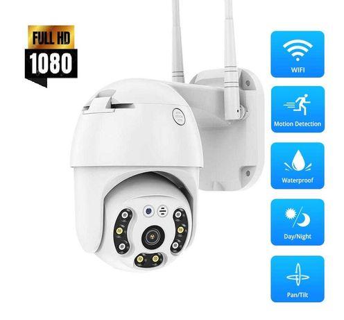 1080P 5MP Lens външна WiFi PTZ IP камера управляема с цветно нощно
