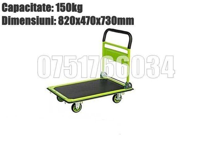 Carucior Platforma Carut Transport 150 250 300kg LIVRARE GRATUITA