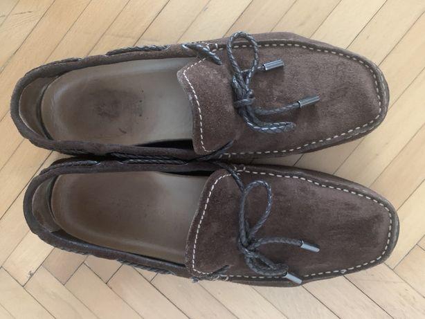 Mocasini Stonefly piele maro 42 pantofi