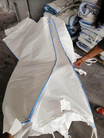 Big bags saci cu tub de incarcare, tub descarcare