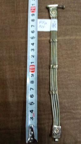 Сребро антична гривна 45 гр / 925 х 5 лева на грам МАркирана