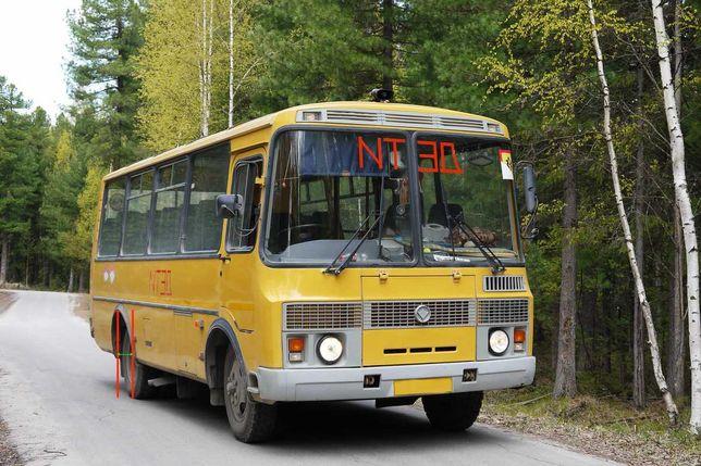 Продам автобус ПАЗ с маршрутом № 6 двигатель Д245 дизель, КПП зил 130