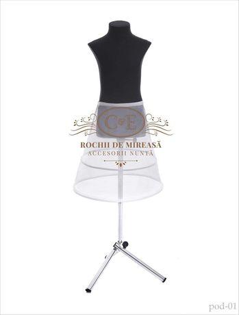 Crinolina rochie fetite (Cercuri rochie copi ) cerc mireasa, ursitoare