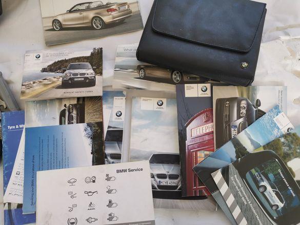сервизна книжка, документи и оригинална папкла за бмв е90 е91 е92 е93
