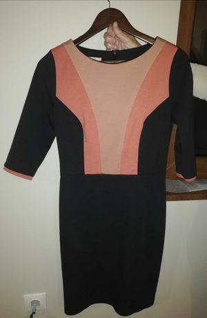 Дамска есенно-зимна рокля 40 размер