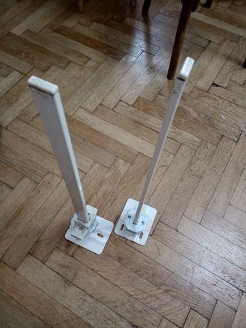 Set Sistem de fixare radiator, pentru pardoseala, otel, H 60 cm