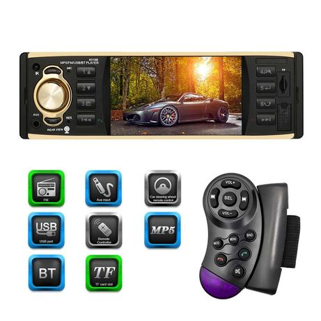 4.3 инча DVD Мултимедия Sony 4019В за кола 1-din MP3 MP4 MP5 USB с