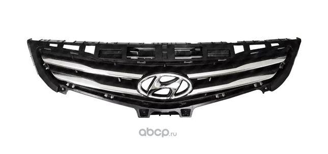 Решетка радиатора на Хэндай Акцент 14-/Hyundai Accent 14-