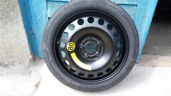 резервна гума патерица за опел астра н вектра ц  сигнум 16 цола.5/110