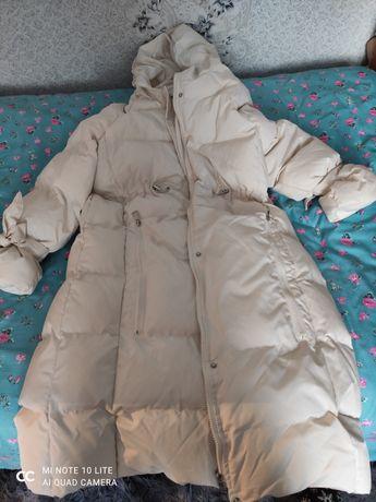 Зимняя куртка белая