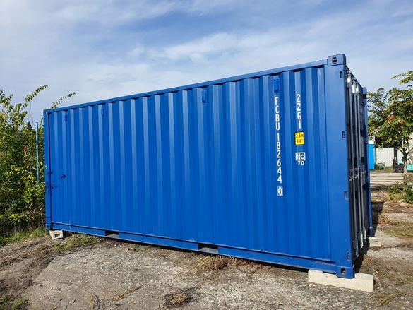 Продавам морски контейнери НОВИ и Втора употреба
