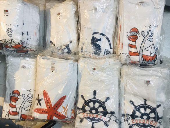 130 Дизайнерски тениски на гр. Созопол - сувенири УНИКАТИ 130 бр. НОВИ