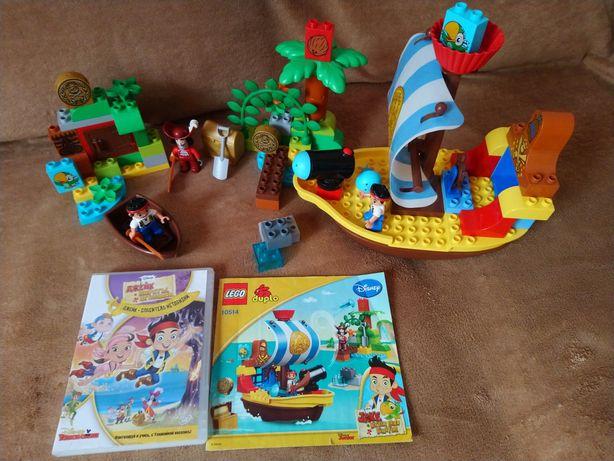 LEGO Duplo .Корабль Джейка и пираты Нетландии. Конструктор .Лего Дупло
