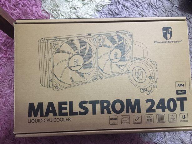 Охлаждение СВО DeepCOOL MAELSTROM 240T обмен