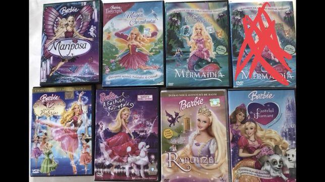 Colecție DVD filme Disney Barbie
