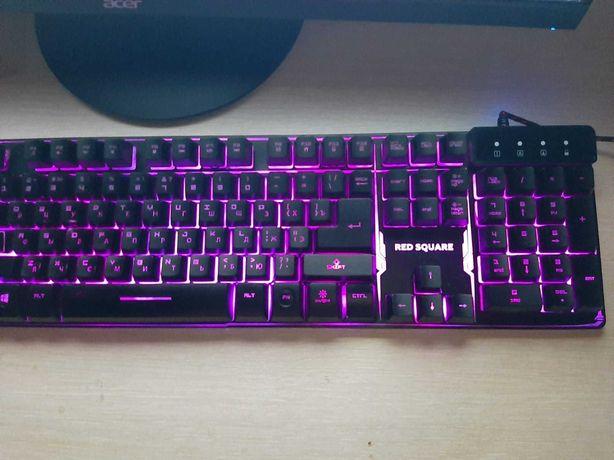 клавиатура USB Red Square Tesla RGB, RSQ-20003