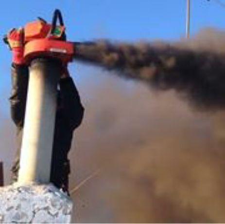 Вакуумная Чистка дымохода