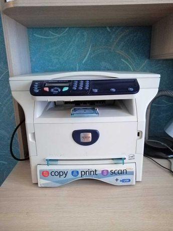 Лазерный МФУ Xerox Phaser 3100MFP/S принтер, сканер, копир