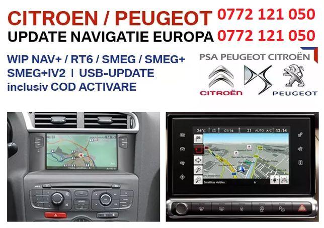 Harti Peugeot-Citroen Rt6,Smeg,Smeg+,Smeg+IV2,Plus cod activare