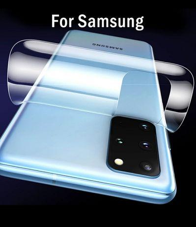 Folie Spate din silicon Samsung S10 Plus S20 . S20 Plus . S20 Ultra