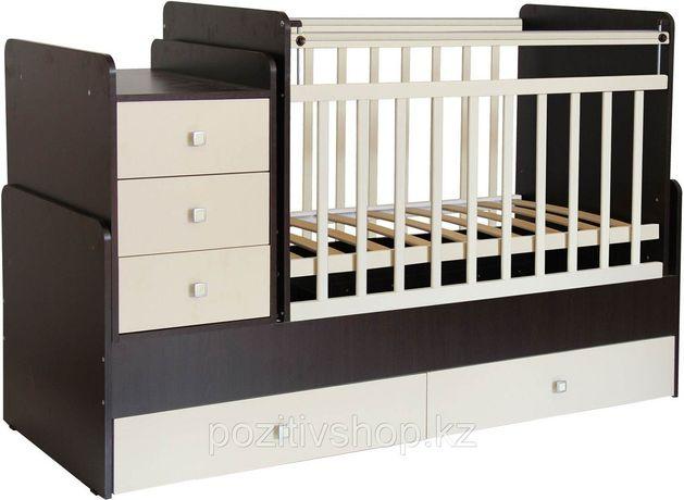 Продам детскую кроватку  трансформер