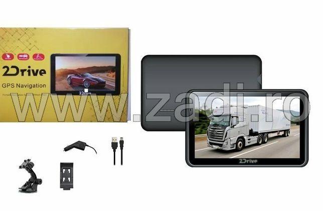 """NAVIGATII GPS 7""""HD, Special Camion - Program TRUCK FULL EU Tir, nou"""